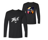 Herren Frühling Herbst Langarm T-Shirt Schweden DJ Avicii Print Frauen Casual Sweater Tees Liebhaber Crew Neck Hoodie T-Shirt