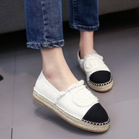 Small fragrant fisherman shoes a straw rope all- match Korean...