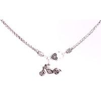 Rock Style Halskette Kristalle Motorrad Turm Charm Pendent Halsketten Für Frauen Männer Schmuck