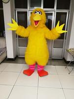 Alta calidad Real Pictures Deluxe Big bird traje de la mascota de tamaño adulto envío gratis