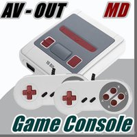 A ++ AV-OUT Super MINI MD Console per videogiochi SG-167 16 bit Handheld Game Player per Sega con scatole di vendita J-JY