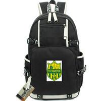 Нант рюкзак Франция ФК рюкзак Les Canaris футбольный клуб школьный мешок футбол рюкзак ноутбук рюкзак спортивная школа сумка из двери день пакет