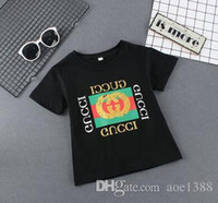 Summer Cotton Fashion T Shirt Kids Sports Preppy Style Short...
