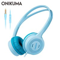 ONIKUMA M100 Cuffie per bambini casque PC Cuffie per bambini over-ear con microfono per PS4 Gamepad / Xbox One / Phone