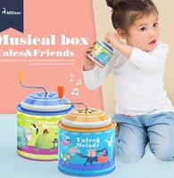 Мидер мультфильм Металл олово Музыкальная шкатулка инструмент дети развивающие игрушки для детей малышей персонализировать день рождения Рождественский подарок