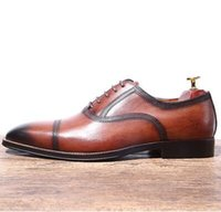 ch.kwok Scarpe Oxford britanniche intagliate a mano scarpe stringate da  uomo di affari scarpe 946eb30549b