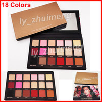 New Rose Gold remastered eyeshadow palette Makeup 18 colors ...