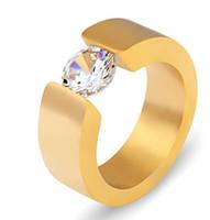 Kostenloser Versand Feiner Großhandel Set Schnecken Mann Ring Europa und die Vereinigten Staaten Drei Farbe Zirkon Schwarz Gold Ringe