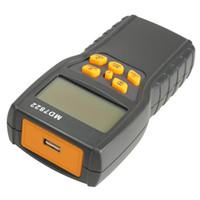 Freeshipping Qualitäts-Breite LCD-Schirm-Digital-Korn-Feuchtigkeits-Temperatur-Messgerät Tester Messsonde Schwarz Temperatur Instruments