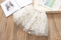 2018 new Fashion Summer Girls Tutu Skirts kids clothes flora...