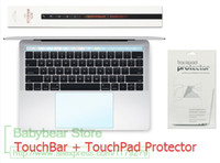 2in1 Touchbar and TouchPad Protectors with for New MacBook P...