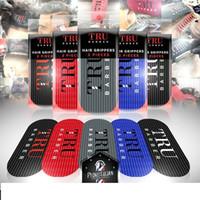 TRU GRIPPERS Berber Yağı Kafa Degrade Gravür Adanmış kuaför Styling Etiketler kuaför için profesyonel salon ürünleri
