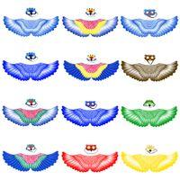12 Seçenek Çocuk Süper Kahraman Pelerinler Hayvan Cosplay Cadılar Bayramı Kostümleri Pelerin Maske Set Ile Macaw ve Baykuş Takım Elbise Çocuk Parti Favor Giyim