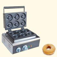 Qihang_top Mutfak aletleri ticari makine yapmak için çörek elektrikli mini çörek yapma makinesi ev çörek maker fiyat