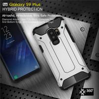 Custodia rigida robusta per Samsung Galaxy S5 S6 S7 EDGE S8 S9 plus Hybrid TPU Custodia rigida per A3 A5 A7 J1 J3 J3 J5 J7 2016 4 5 8