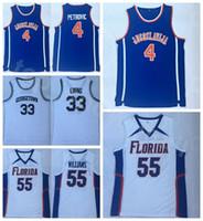كلية Jugoslavija درزن بتروفيتش جيرسي 4 رجال كرة السلة جورج تاون هيواس 33 باتريك إوينج فلوريدا غاتر ufl مزدوجة جيسون ويليامز 55
