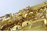 Yanagisawa 992 جودة عالية إب ألتو ساكسفون الذهب ورنيش النحاس ساكسفون شقة ساكسفون الآلات الموسيقية الجديدة مع حالة