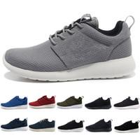 roshe run one 1.0 London Run Running Shoes uomo donna blu scuro nero grigio blu London Olympic Sports Sneakers Jogging Scarpe da ginnastica zapatos taglia 36-45