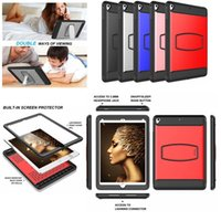 Full Protective Kickstand Screen Protector Case for New iPad...