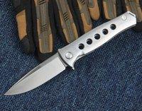 Shirogorov cuchillo D2 Bola sistema de cojinetes todos los sistemas de rodamiento de acero mango de bola plegable cuchillos de caza del cuchillo que acampan cuchillos de regalo de Navidad
