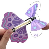 Newest Flying butterfly Magic Toys Hand Transformation Fly B...