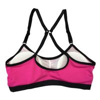 Fitness Bra Women Push Up Crop Tops Breathable Fitness Stret...