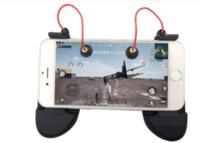 데이터 개구리 술집 게임 Gamepad 휴대 전화 게임 컨트롤러 용 Shooter 방아쇠 화재 버튼 나이프를위한 아이폰에 대한