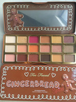 Gingerbread Spice 18 colors Eyeshadow too faced eye shadow s...