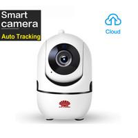 كاميرا PTZ IP لاسلكية ذكية عالية الدقة 1080P مع خاصية التتبع السحابي لتسجيل WIFI السلكي للأجسام المتحركة