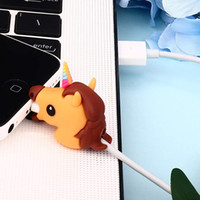 Wholesale Unicorn Bite Cable Protector for iphone 7 6 8 X US...