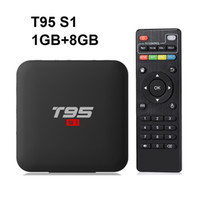Оригинальный T95 S1 1 ГБ 8 ГБ android 7.1 тв коробка Amlogic S905W поддержка 4 К StbEmu Youtube Netflix set top box