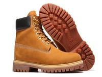 new product 50569 79c2b Descuento Timber Men Classic With Wheat 6 pulgadas 10061 botas impermeables  Botas de montaña Xams Designer