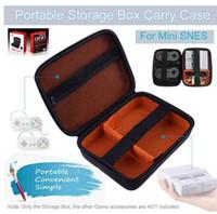 المحمولة حقيبة التخزين واقية حقيبة حمل لنينتندو snes مصغرة وحدة السفر الحقيبة حقيبة تخزين حقيبة واقية عالية الجودة