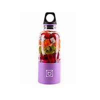500 ml de Juicer de la taza eléctrica Mini Portable USB Juicer recargable Blender Maker Shaker Squeezers Fruit Orange Juice Extractor