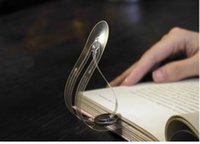 Mini LED Bookmark Lamps Book Light Creative Flexible Bookmar...