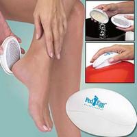 Più recente Salute Bellezza Uso domestico Massaggio Forma ovale Pedicure Lima per piedi Pe Egg Callo Rimozione cuticola Cura dei piedi