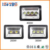 슈퍼 밝은 200W 300W 400W led 투광 조명 야외 LED 홍수 빛 램프 방수 LED 터널 빛 램프 거리 lapms AC 85-265V