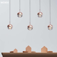 WOXIU nordic Postmodern Light luxury creativity Ball chandel...