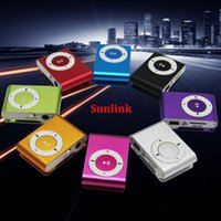 mini clip mp3 player With TF Micro SD Card Slot support 1- 8g...