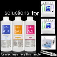 AS1 SA2 AO3 Aqua Peeling Solution 400ml pro Flasche Hydra Dermabrasion Gesichtserumreinigung Blackhead Export Flüssigkeitsreparatur DHL