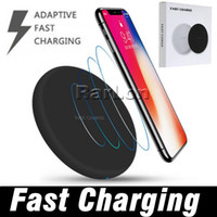 2018 New Fast Qi Wireless Charger Pad With USB Cable Quick C...