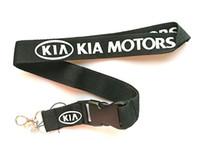 Оптовая 10 шт. популярные kia логотип автомобиля мобильный телефон талреп съемный брелки значок кулон партии подарок сувениры C-012