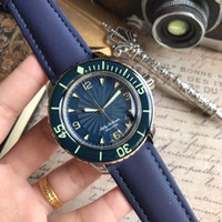 Venta caliente Reloj de lujo Cincuenta Fathoms Movimiento de cuarzo 904L Caja de acero inoxidable 43mm para caballeros Reloj Super Luminoso Hombre Mejor reloj de pulsera