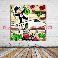 Alec Monopoly - 19, Home Decor HD Printed Modern Art Painting ...