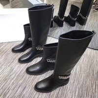 Stylish Fashion Womens Horsebit Flat Short Boots With Chain ...
