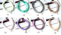 Luxus neue abnehmbare Anhänger kleine quadratische magnetische Ring Artikel Dekoration Wild Satin Frauen Seidenschal Geschenk Box Verpackung