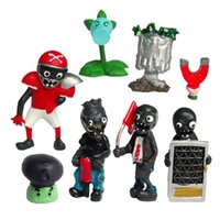 8pcs a lots Zombies Wrestling modle toys for Cake decoration...