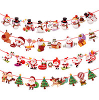 Christmas 2018 Banner Wall Hangings Christmas Ornaments Pend...