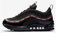 64d76a0845 Alta calidad Nuevos hombres Low Cushion 97 transpirable Barato zapatillas  de deporte zapatillas de deporte planas