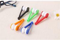 Sonnenbrille-Brillenmikrofaser-Bürsten-Reiniger-neuer gelegentlicher sendender Augenglas-Sonnenbrille-Objektiv-Reinigungs-Abwischen-Reiniger DHL-Freeshipping